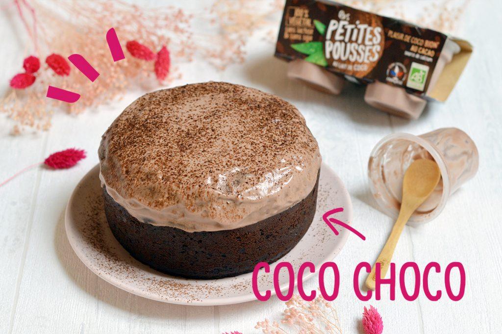 Recette Gateau Chocolat coco sans lactose
