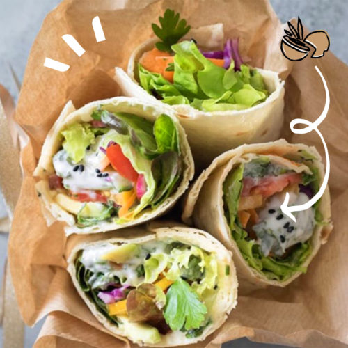 wrap coco vegan